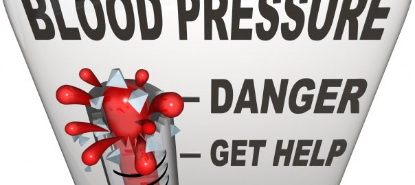 dangerously high blood pressure