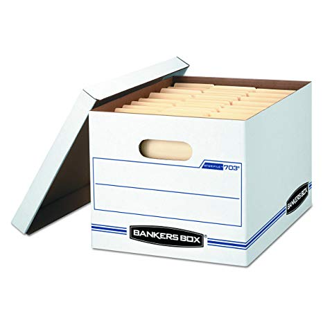 A paper collection box for paper shredding